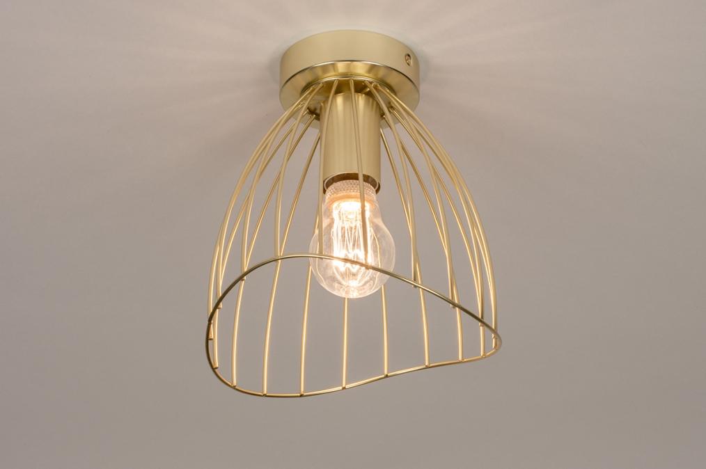 Plafondlamp 74327: modern, retro, eigentijds klassiek, art deco #0