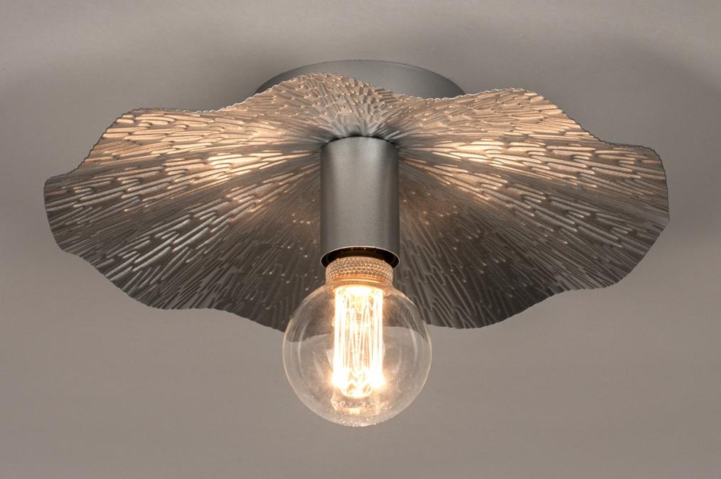 Plafondlamp 74331: landelijk, rustiek, eigentijds klassiek, metaal #0