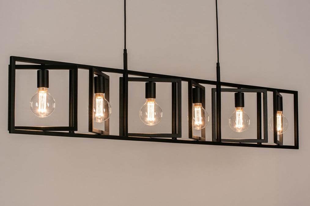 Hanglamp 74336: industrie, look, modern, metaal #0