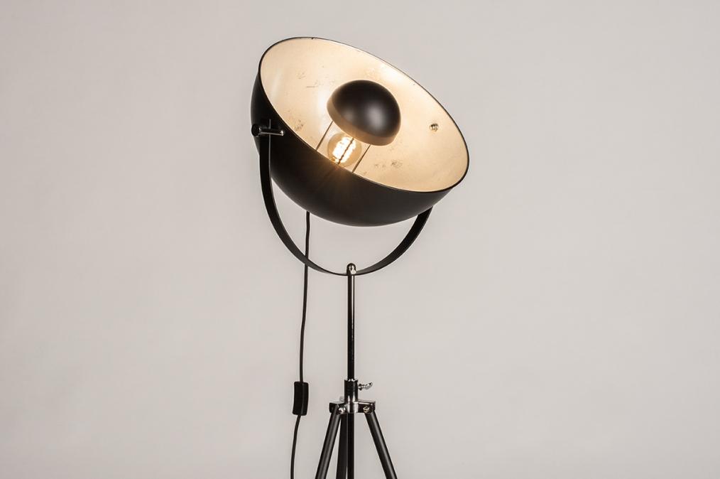 Vloerlamp 74360: industrie, look, modern, metaal #0