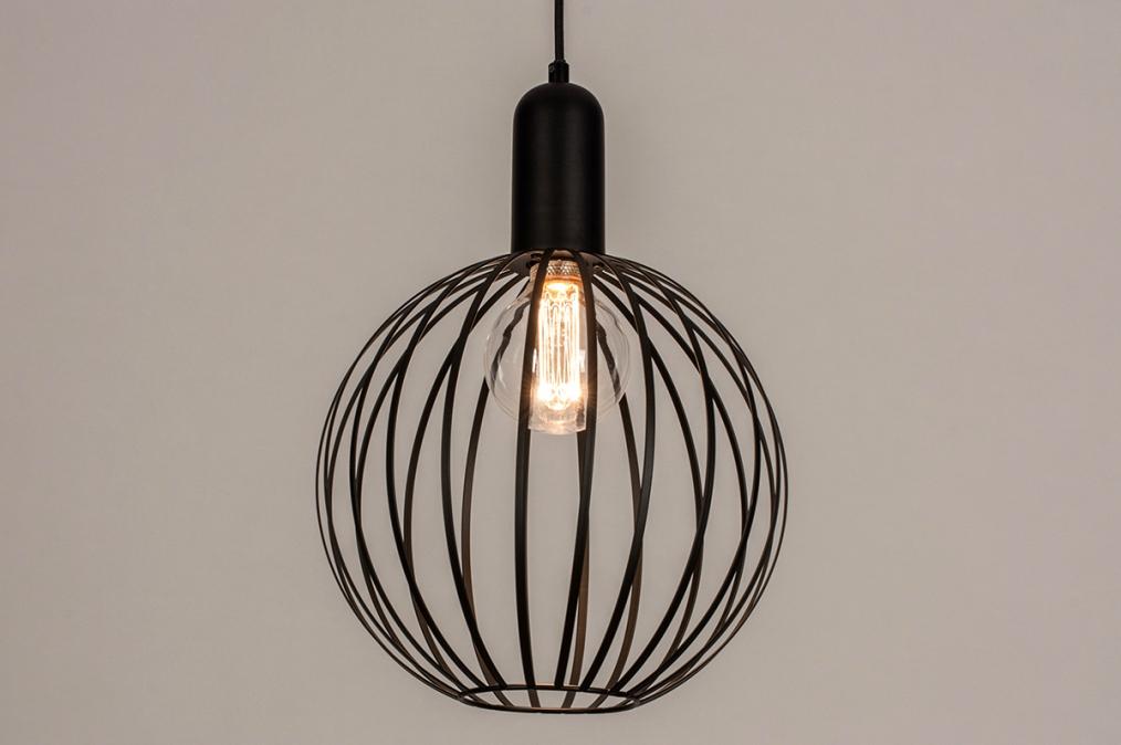 Hanglamp 74365: industrie, look, modern, metaal #0
