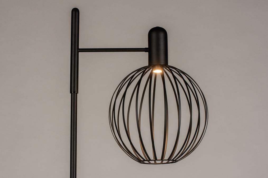 Vloerlamp 74372: industrie, look, landelijk, rustiek #0
