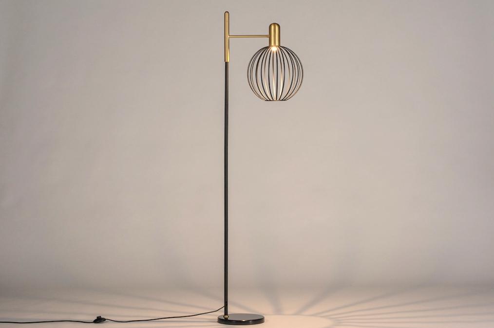 Vloerlamp 74373: landelijk, rustiek, modern, eigentijds klassiek #0