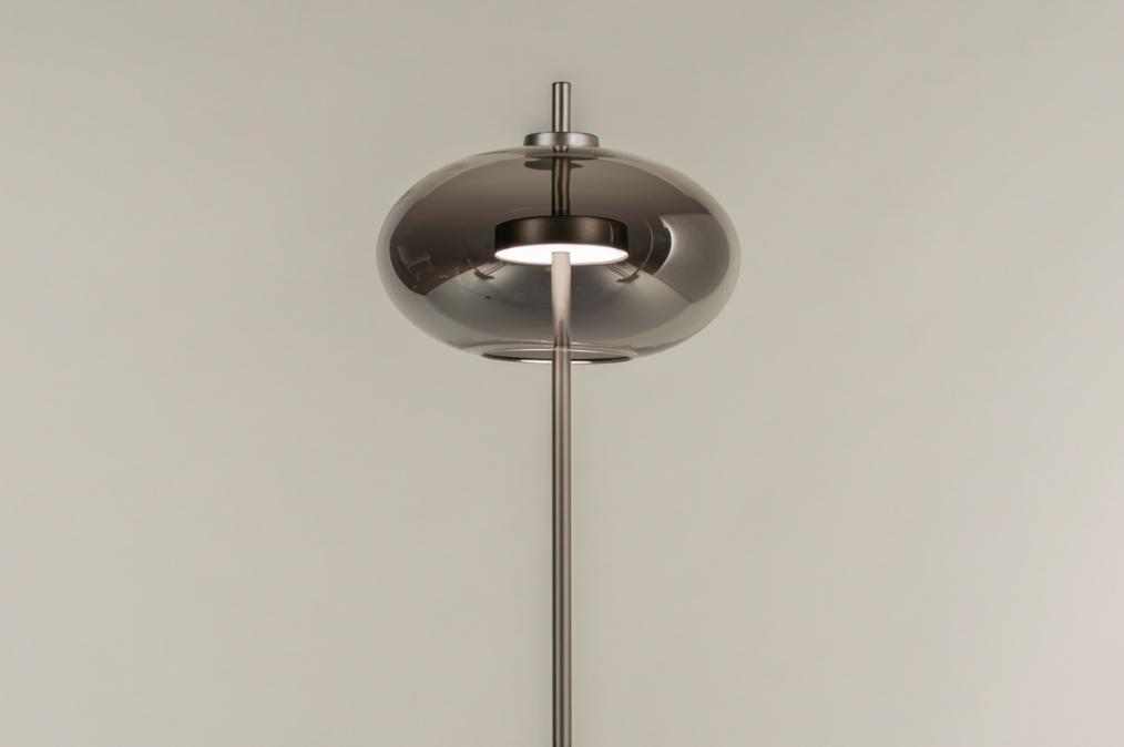 Vloerlamp 74423: modern, retro, eigentijds klassiek, glas #0