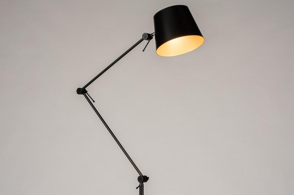 Vloerlamp 74425: industrie, look, modern, metaal #0