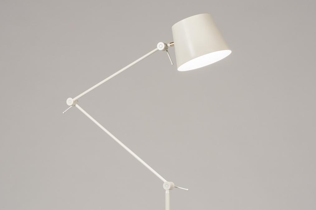 Vloerlamp 74426: landelijk, rustiek, modern, metaal #0