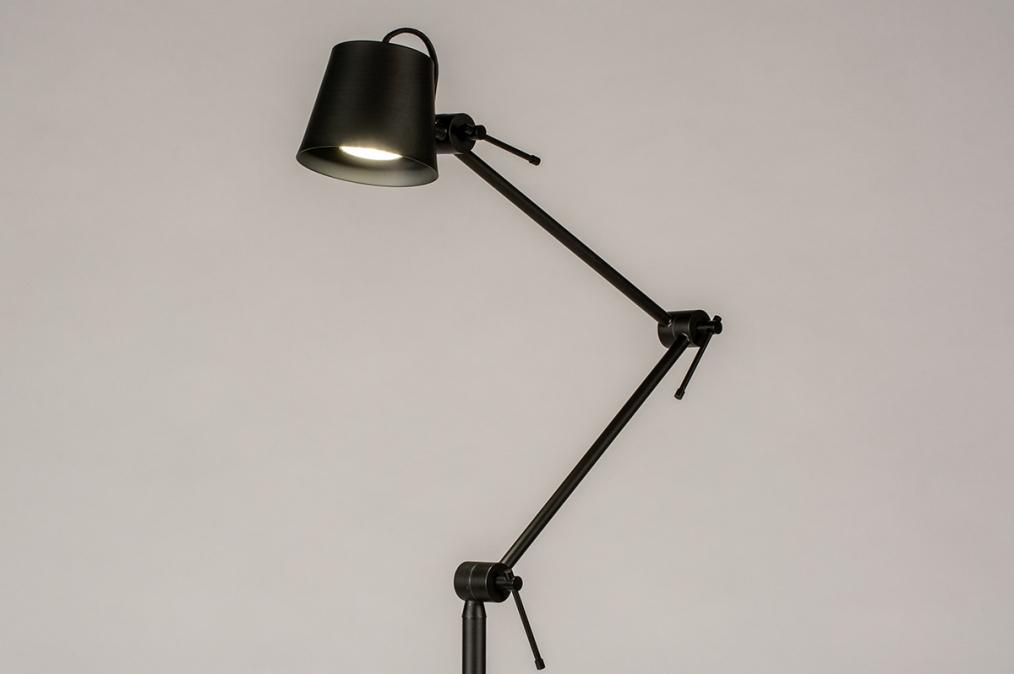 Vloerlamp 74427: industrie, look, modern, metaal #0