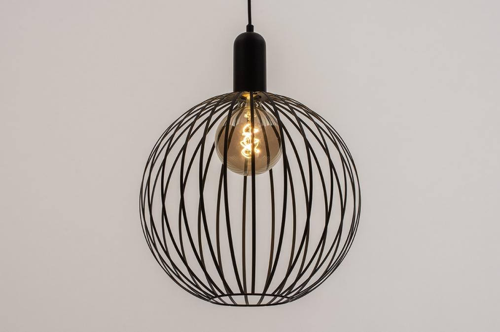 Hanglamp 74430: landelijk, rustiek, modern, eigentijds klassiek #0
