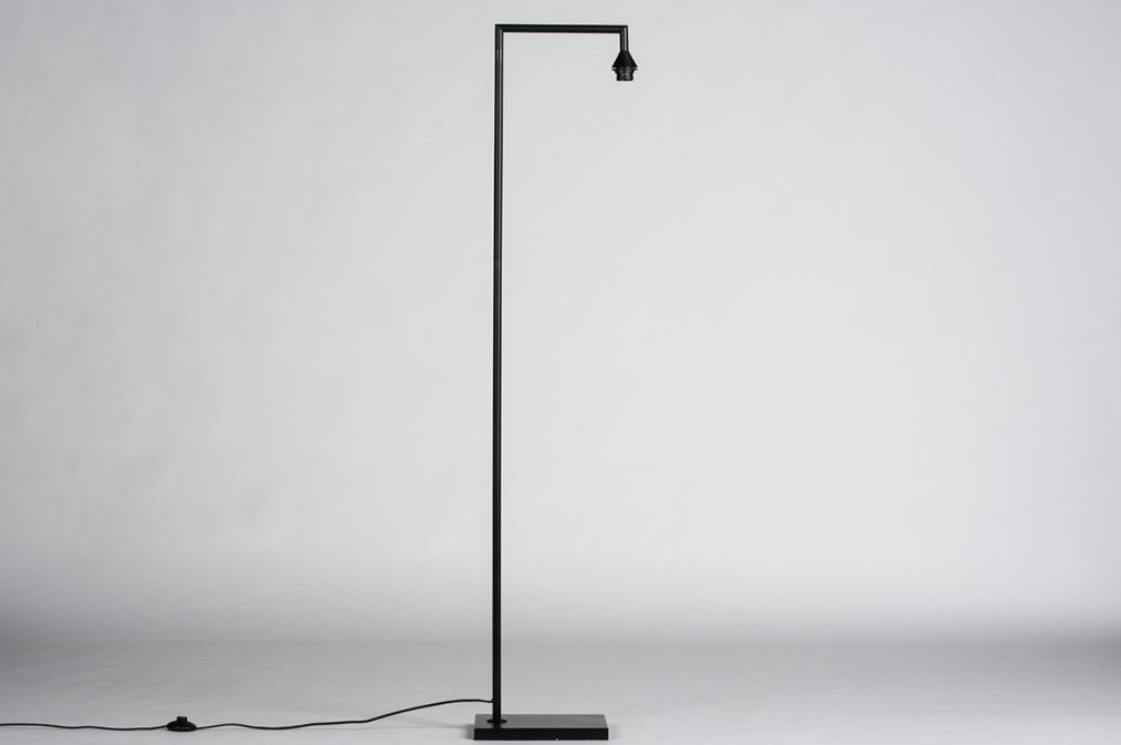 Onderdeel 74437: modern, metaal, zwart, mat #0