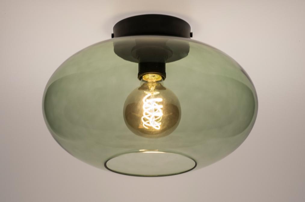 Plafondlamp 74441: modern, retro, eigentijds klassiek, art deco #0