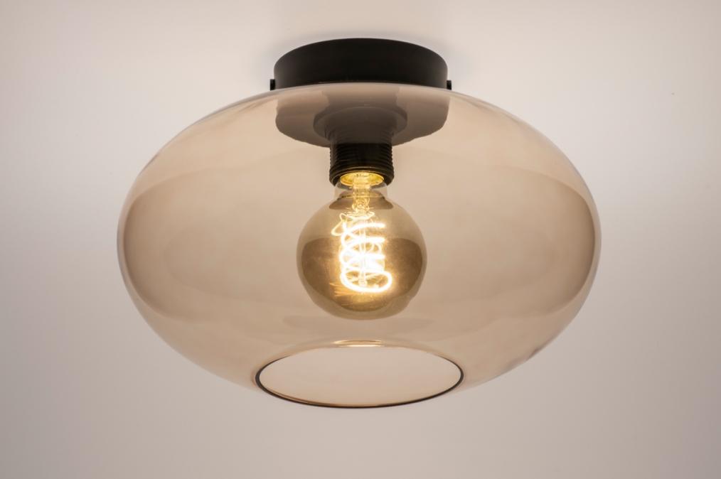 Plafondlamp 74442: modern, retro, eigentijds klassiek, art deco #0