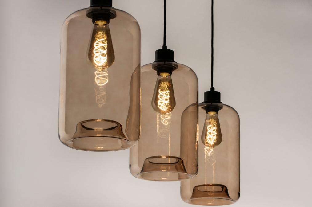 Hanglamp 74444: landelijk, rustiek, modern, retro #0