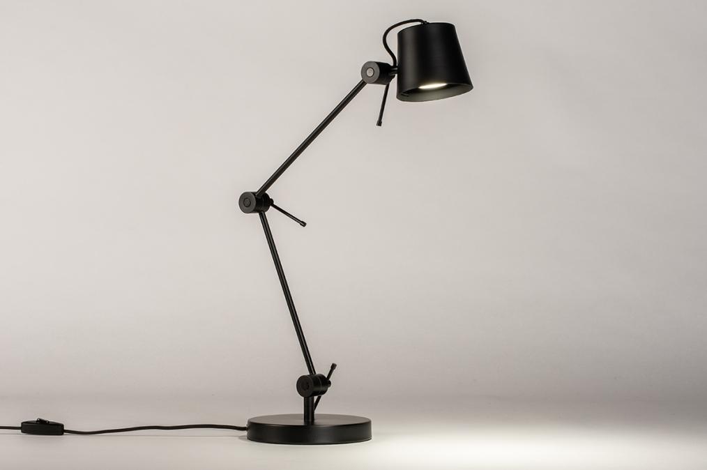 Tafellamp 74449: industrie, look, landelijk, rustiek #0