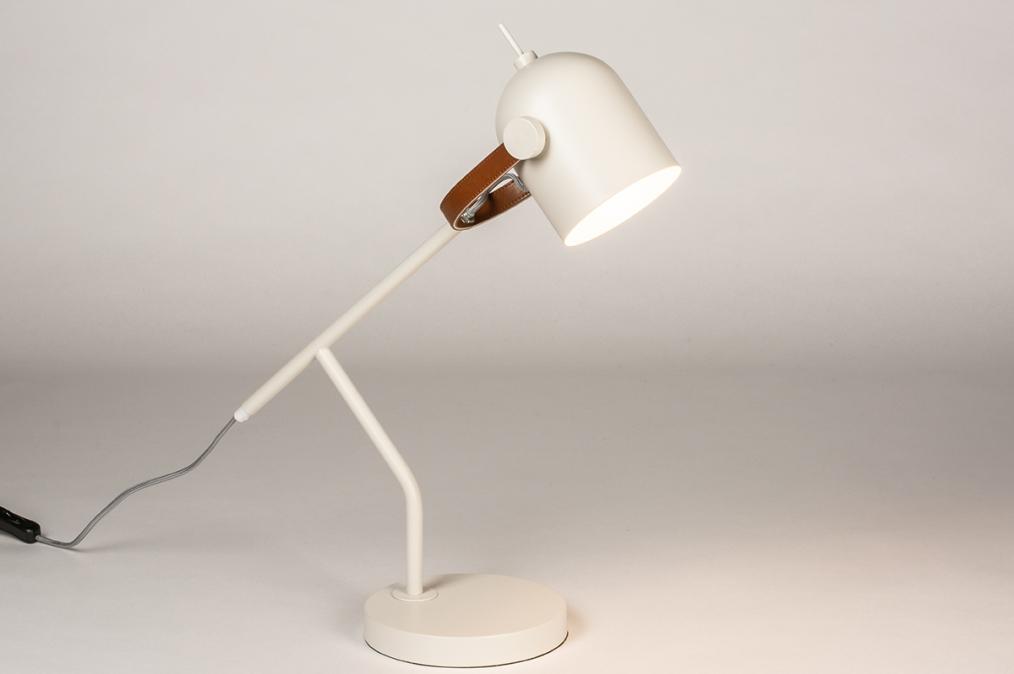 Tafellamp 74458: landelijk, rustiek, modern, eigentijds klassiek #0