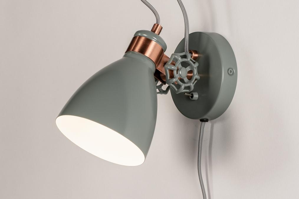 Wandlamp 74460: landelijk, rustiek, modern, retro #0