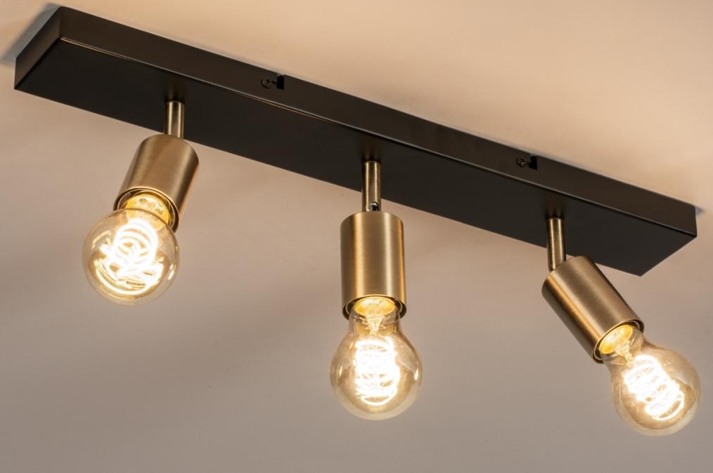 Plafondlamp 74481: landelijk, rustiek, modern, eigentijds klassiek #0