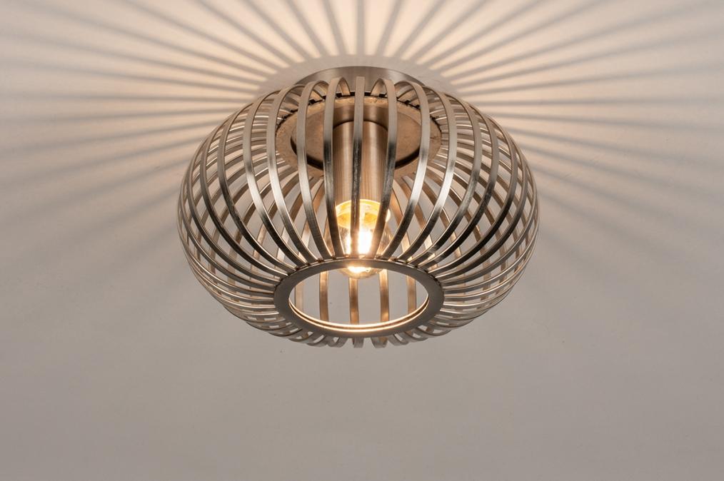 Plafondlamp 74493: landelijk, rustiek, modern, retro #0