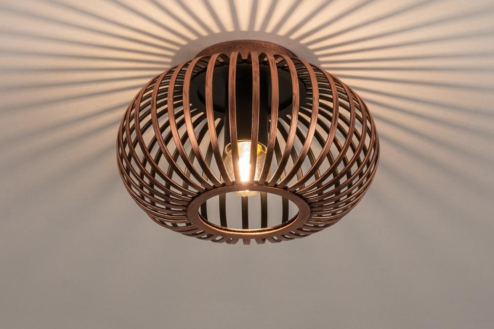Plafondlamp 74495: landelijk, rustiek, modern, retro #0