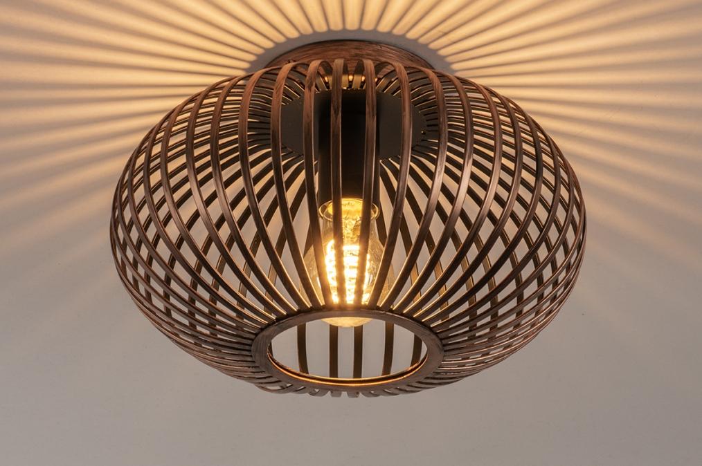 Plafondlamp 74497: landelijk, rustiek, modern, eigentijds klassiek #0