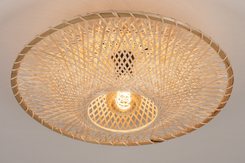 Plafondlamp 74517: landelijk, rustiek, modern, retro #0