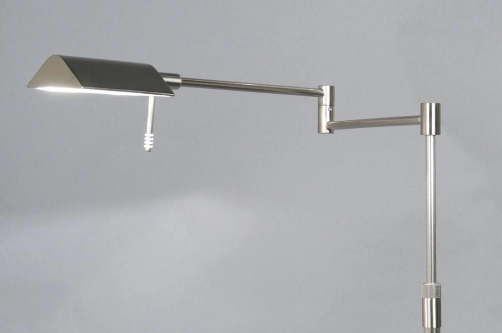Vloerlamp 83430: modern, klassiek, eigentijds klassiek, staalgrijs #0