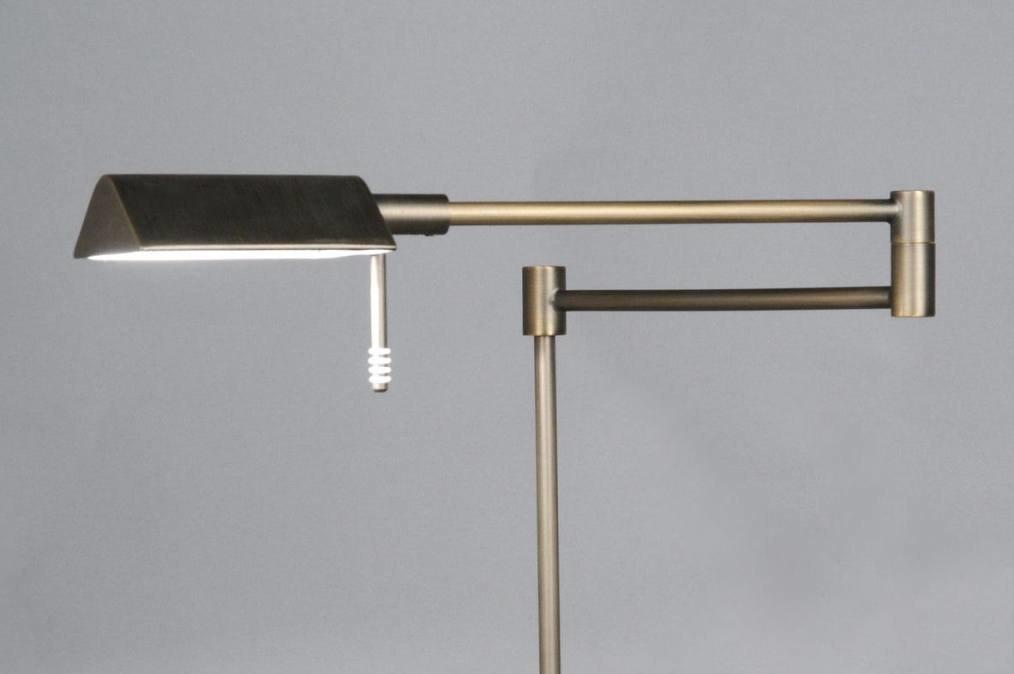 Vloerlamp 83431: modern, klassiek, eigentijds klassiek, brons #0