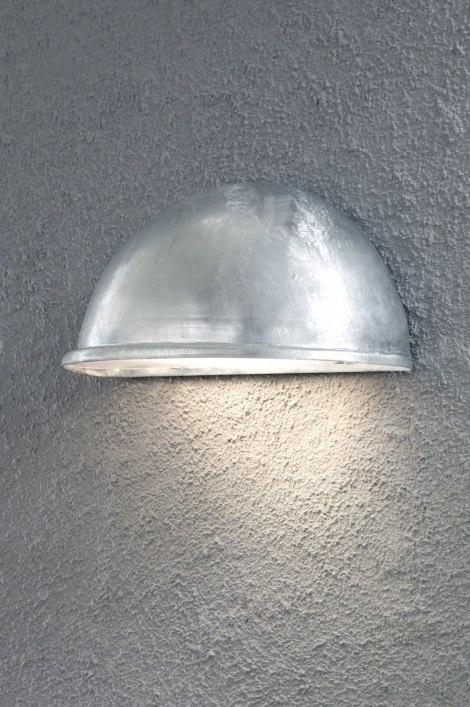 Buitenlamp 84877: modern, zink, gegalvaniseerd staal thermisch verzinkt, metaal #0