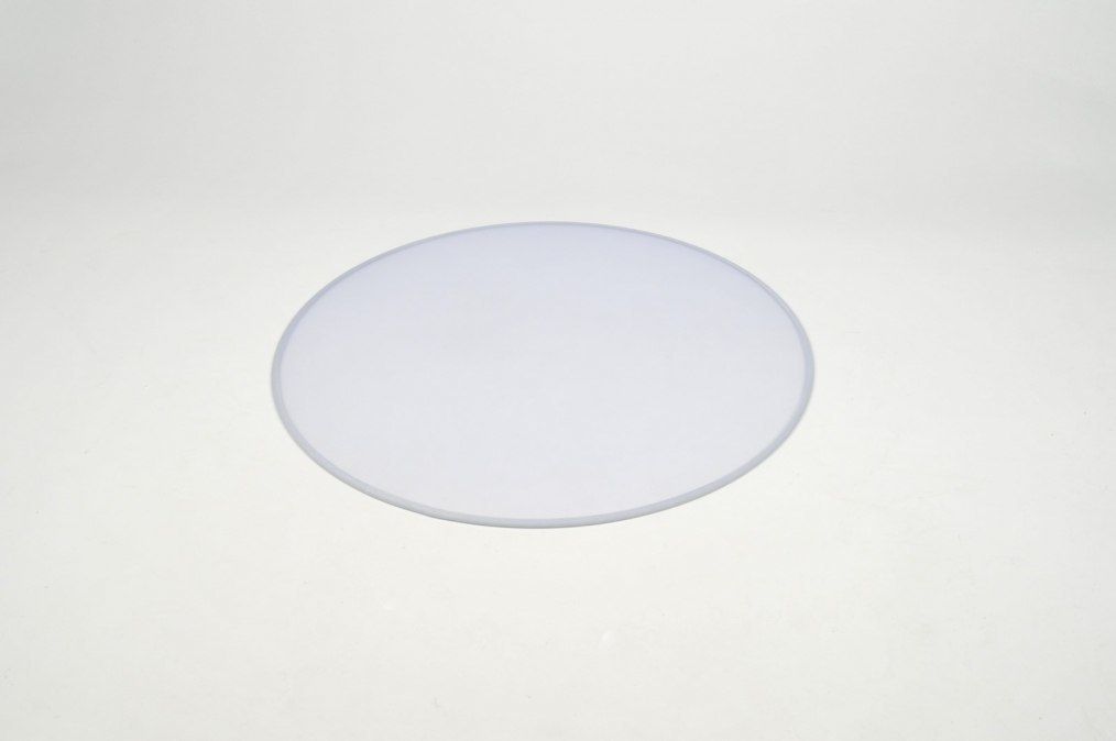 Pendant light 85943: plastic, white, round #0