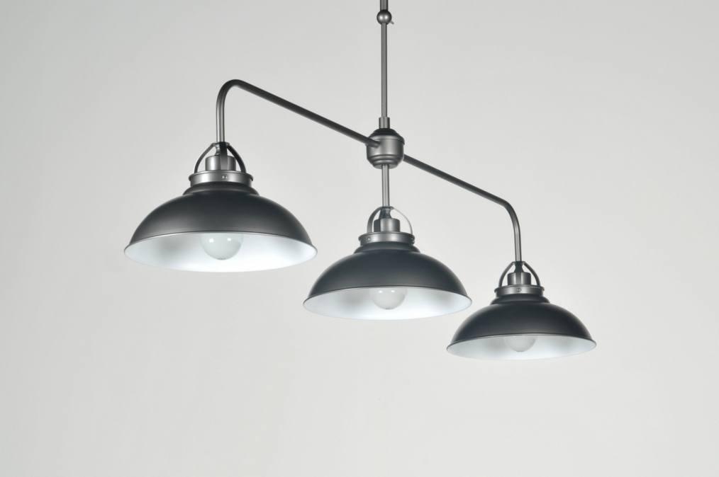 Plafondlamp Keuken Landelijk : Suspension 85980: Classique, Retro, Look Industriel, Acier