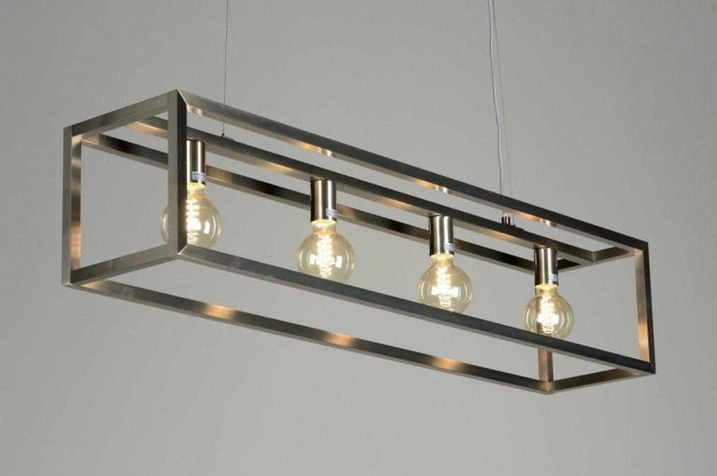 Hanglamp 87313: sale, modern, design, staalgrijs #0