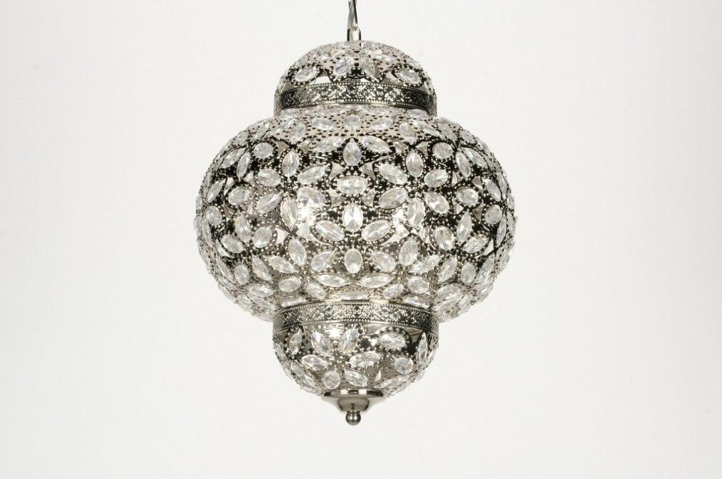 Marokkaanse Lampen Goedkoop : Filigrain lampen open hanglampen matzwart goud en zilver binnenkant