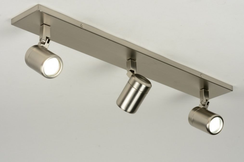 Spotlight 87885: modern, stainless steel, metal, oblong #0
