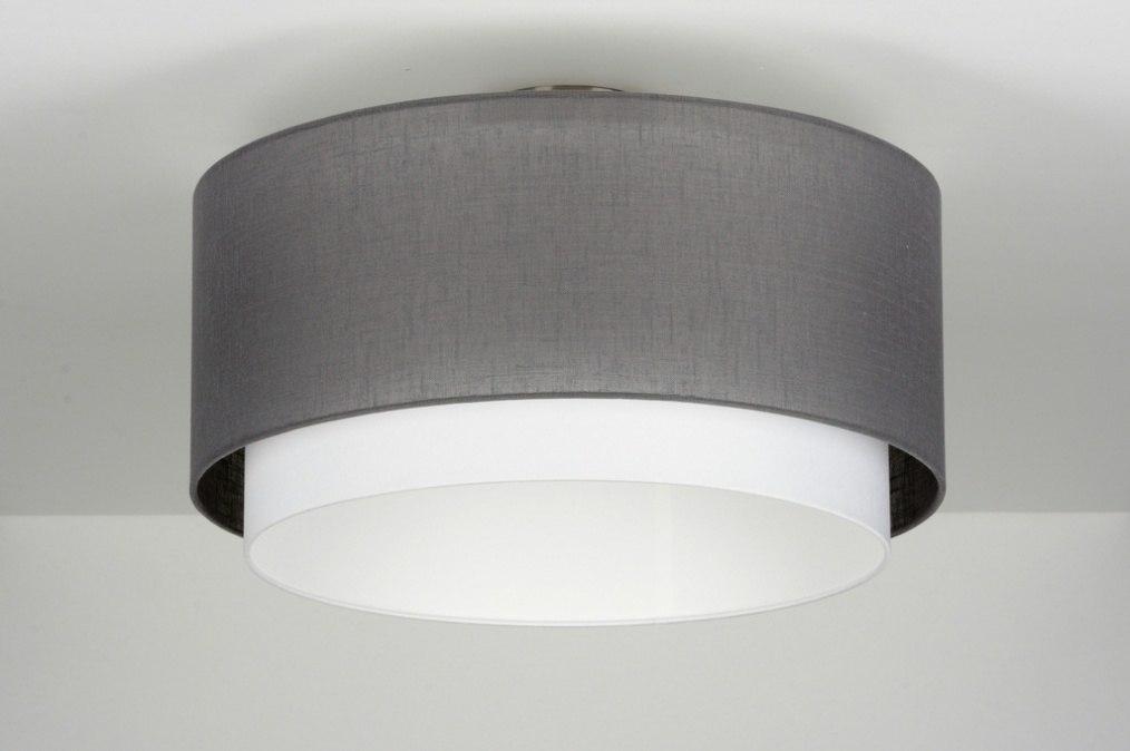 Plafondlamp 88529 modern eigentijds klassiek landelijk rustiek - Eigentijds huis grijs ...