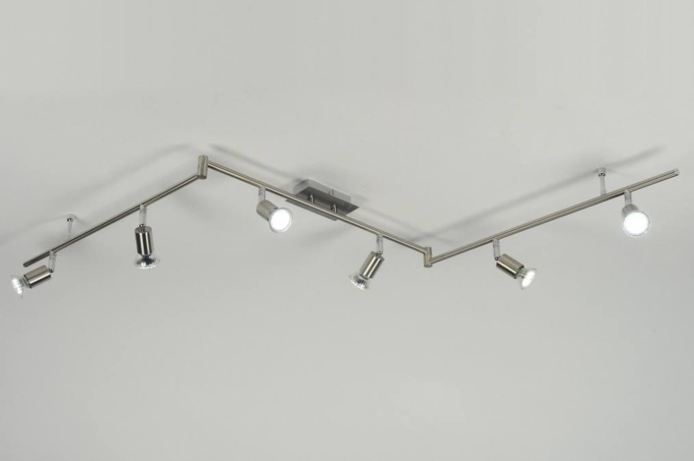 Moderne Keukenverlichting : Spot 88730: Moderne, Acier Poli, Rond ...