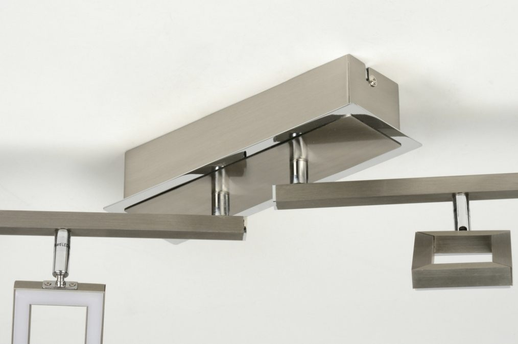 deckenleuchte 88744 modern design stahl rostbestaendig laenglich. Black Bedroom Furniture Sets. Home Design Ideas