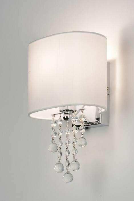 Wandlamp 88940: modern, eigentijds klassiek, kristal, kristalglas #0