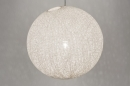 suspension-10759-moderne-retro-plastique-creme-blanc-rond