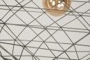Hanglamp 11993: modern, grijs, staalgrijs, metaal #7