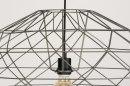 Hanglamp 11993: modern, grijs, staalgrijs, metaal #8