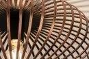 Plafondlamp 12004: modern, eigentijds klassiek, metaal, roest #4