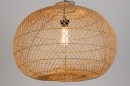 Hanglamp 12464: modern, retro, riet, hout #3