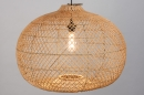 Hanglamp 12464: modern, retro, riet, hout #5