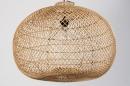 Hanglamp 12464: modern, retro, riet, hout #7