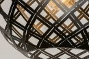 Hanglamp 12587: design, modern, metaal, zwart #7
