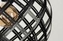 Hanglamp 12587: design, modern, metaal, zwart #8
