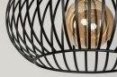 Hanglamp 12599: design, modern, metaal, zwart #7