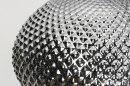 Hanglamp 12957: modern, eigentijds klassiek, glas, zilvergrijs #10