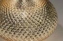 Tafellamp 12961: modern, eigentijds klassiek, glas, stof #8
