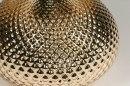 Tafellamp 12961: modern, eigentijds klassiek, glas, stof #9