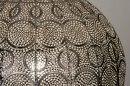 Hanglamp 12983: modern, metaal, nikkel, zilvergrijs #8